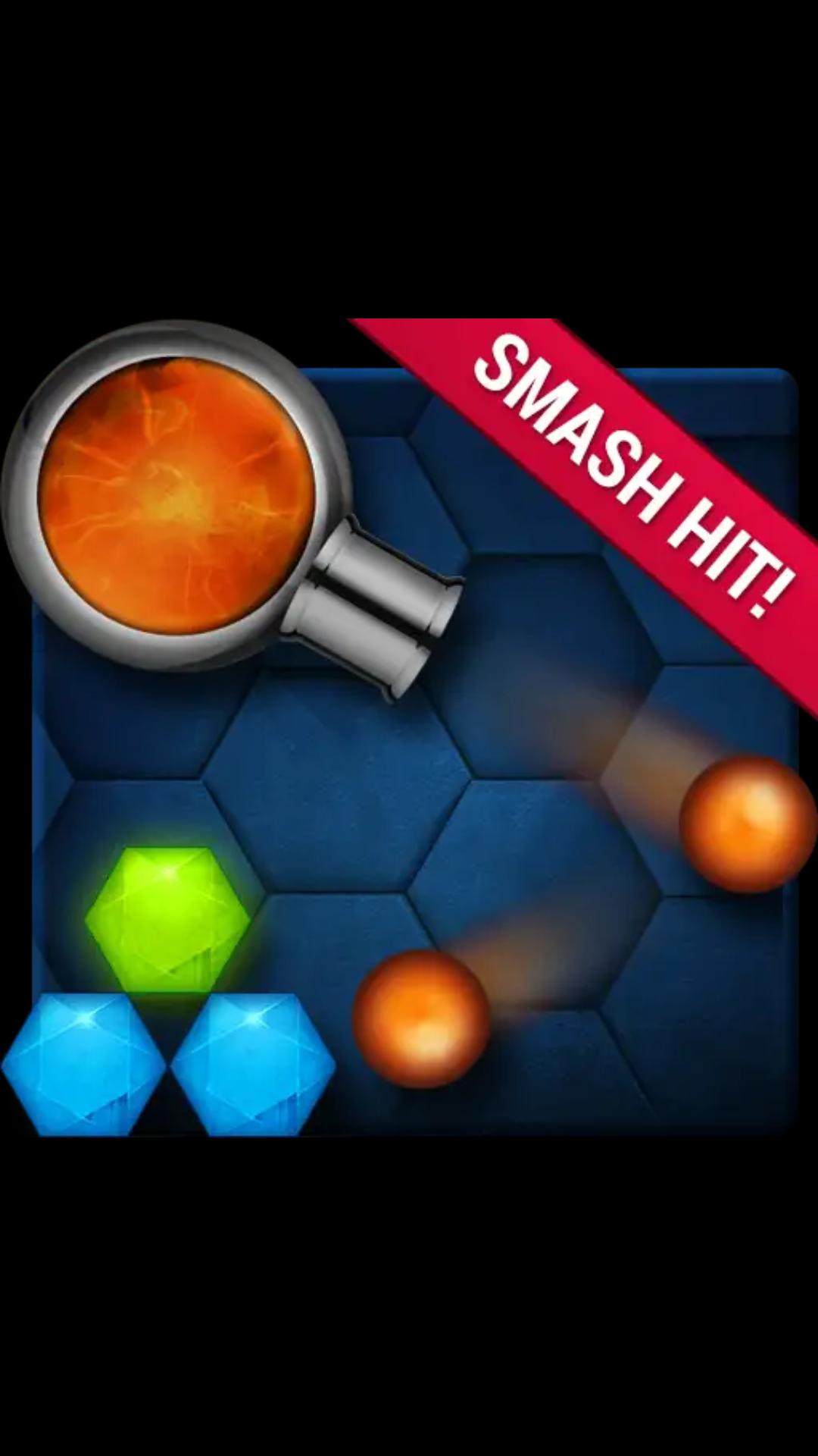 Google play Hexasmash2 ball shooter physics puzzle