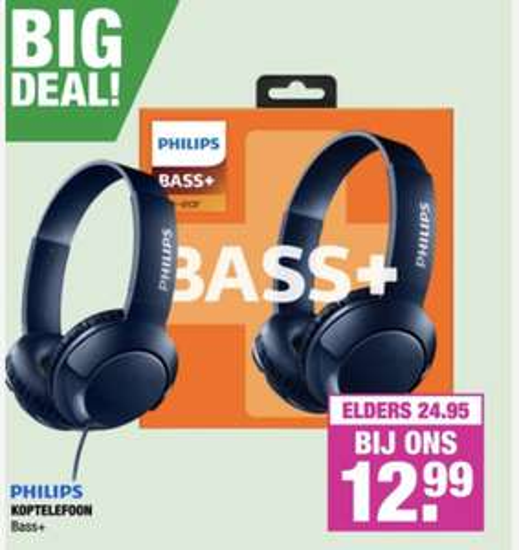 Big Bazar - Philips ear-on €12,99