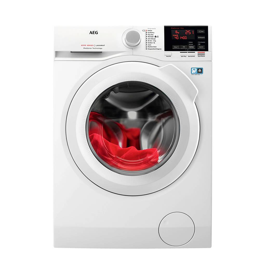 AEG L6FB86GW wasmachine @ Wehkamp