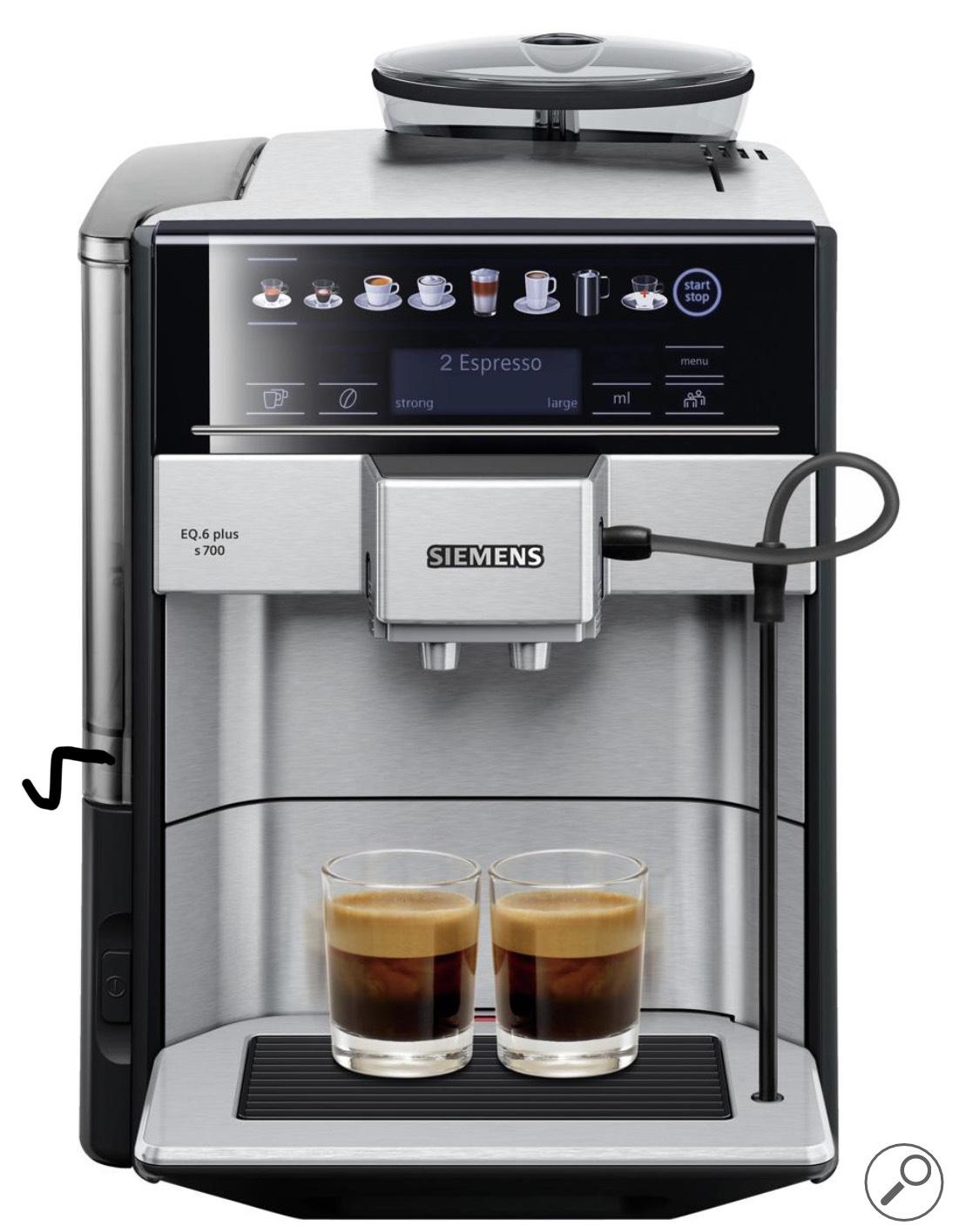 Siemens TE657313RW EQ6 Plus - Espressomachine Volautomaat - RVS (excl €50 cashback)