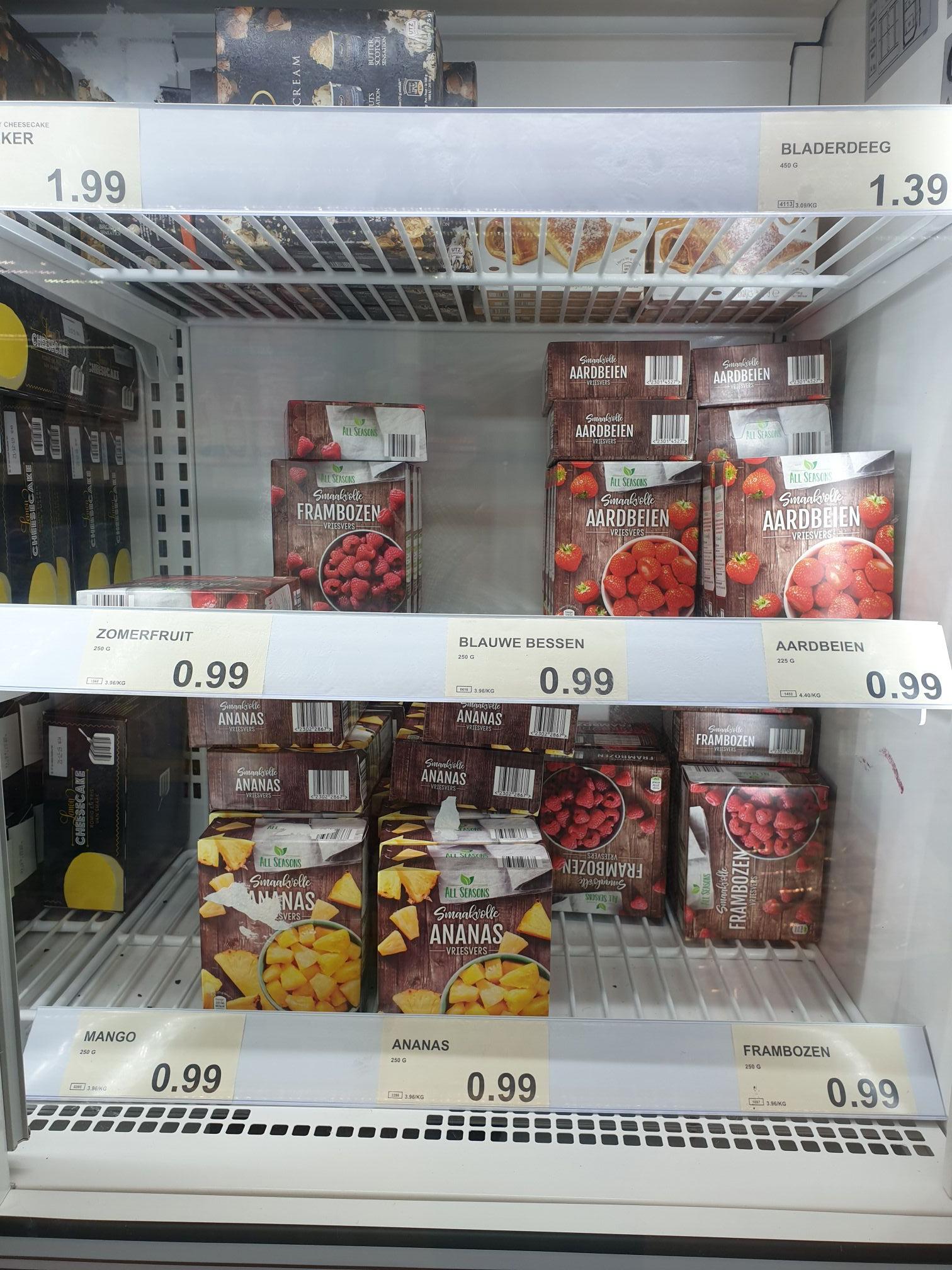 Diepvriesfruit (Varianten) @ aldi