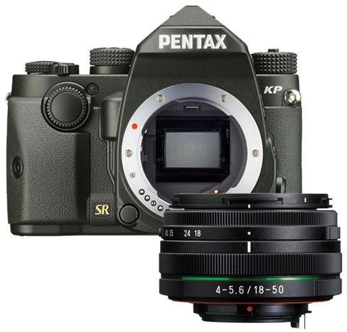 Pentax KP Body camera + 18-50mm voor €789 @ DirectSale