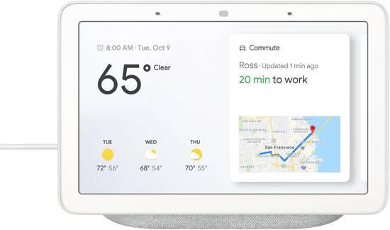 Google Nest Hub (USA versie) voor