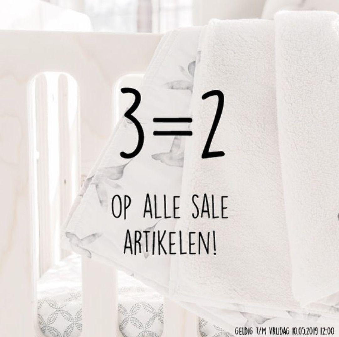 3=2 op alle sale @kidooz.nl (baby en kinderkleding)