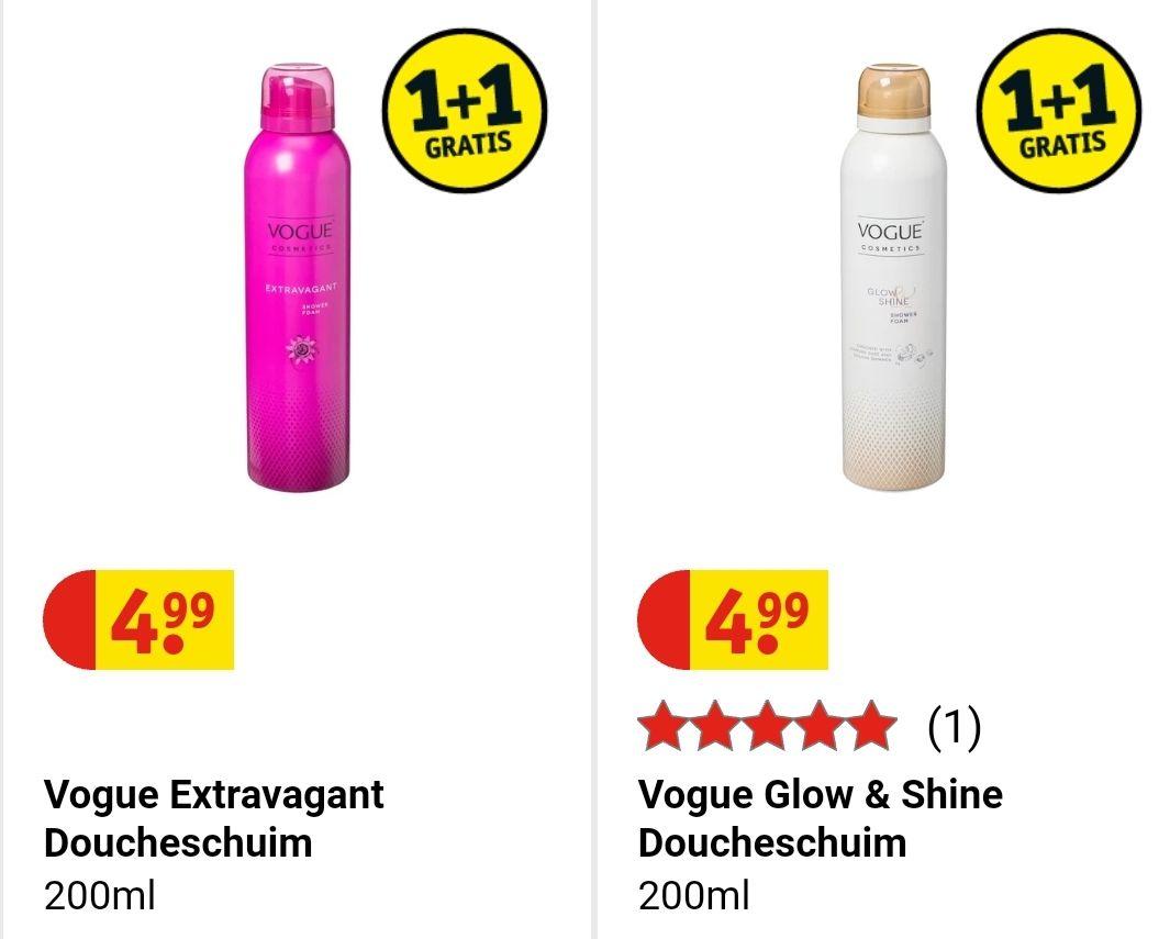 Alle merken douchefoam 1+1 gratis +gratis cadeautasje of geurstokjes bij Kruidvat