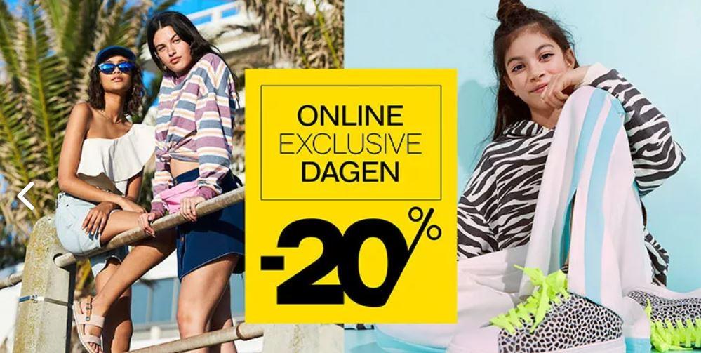 Online Exclusive dagen -20% @ Van Haren