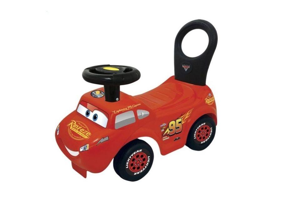 Cars loop- en duwwagen met licht en geluid bij Bol.com