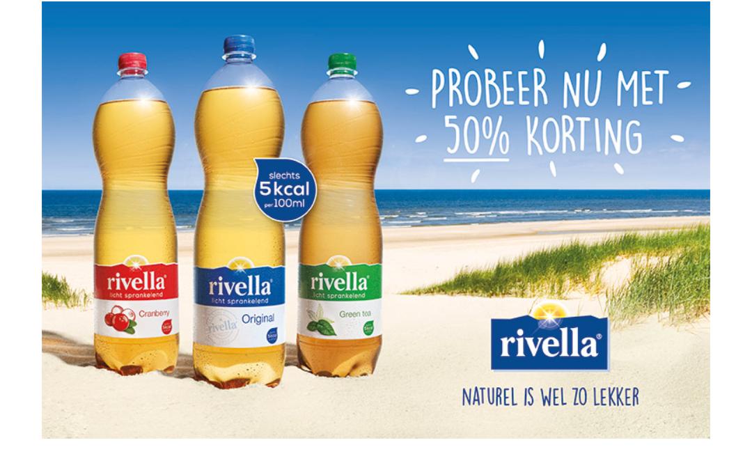 Gratis en 50% cashback op Rivella (met locaties)