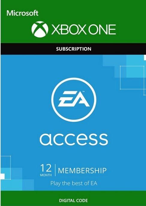 EA Access 12 maanden voor €16,49 (Xbox) @cdkeys.com