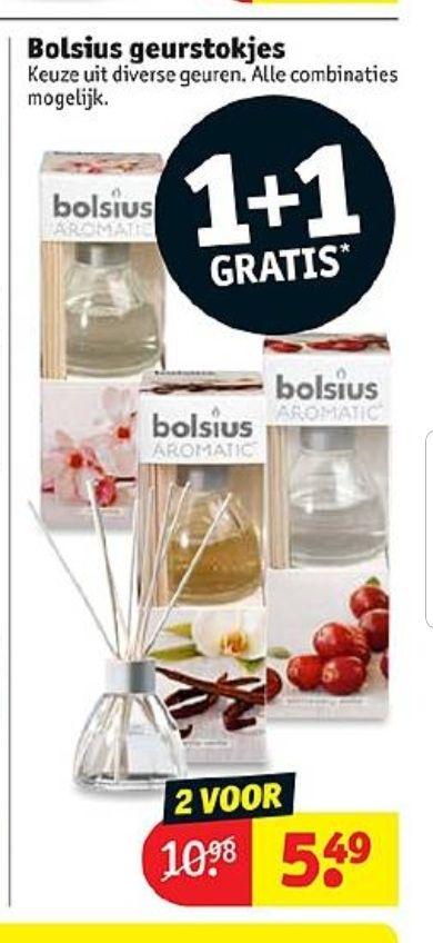 @Kruidvat, Bolsius geurstokjes 1+1 voor €5.49