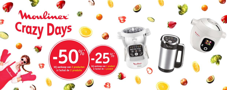 -50% op moulinex electrische apparaten - mogelijks enkel belgie