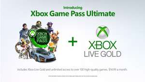 Verleng je Xbox Live Gold en Game Pass voor $1 door upgraden naar Game Pass Unlimited @ Xbox Insider