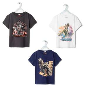 MARVEL t-shirts €4,49 @MANGO