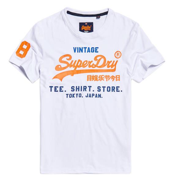 Superdry heren t-shirt -50% @ Hudson's Bay