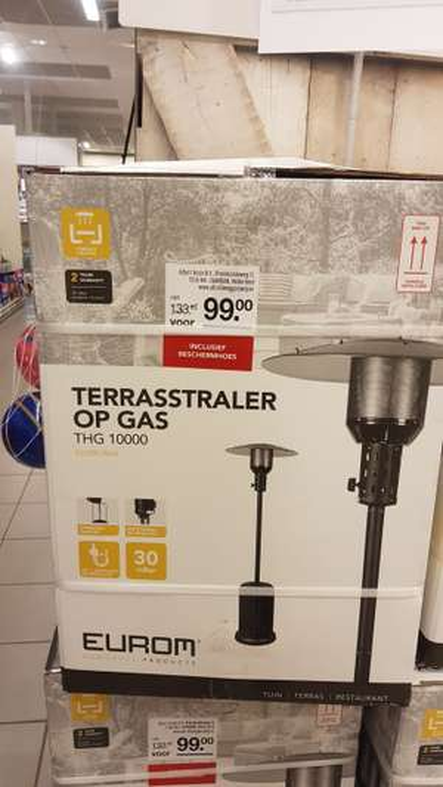 @AH xl, terrasverwarming voor €99.00
