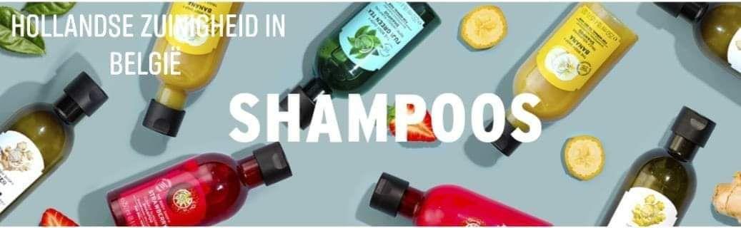 Gratis the body shop shampoo in België en Nederland (18 mei)
