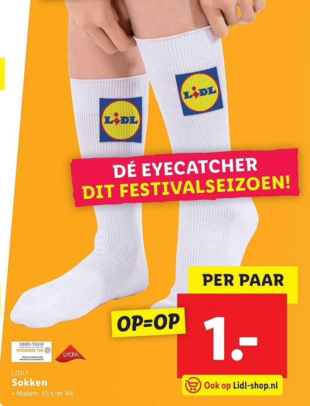 Lidl sokken €1 @Lidl