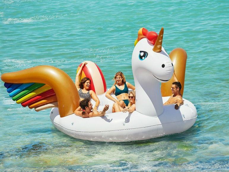 XXL unicorn 6 persoons badeiland voor € 169 @ Lidl-shop