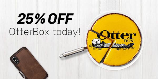 25% korting op alles @ Otterbox