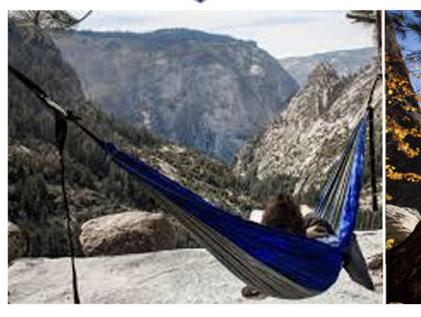 Hangmat voor twee personen