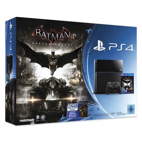PlayStation 4 500GB Console + Batman: Arkham Knight voor €348,90 @ Ebay.nl