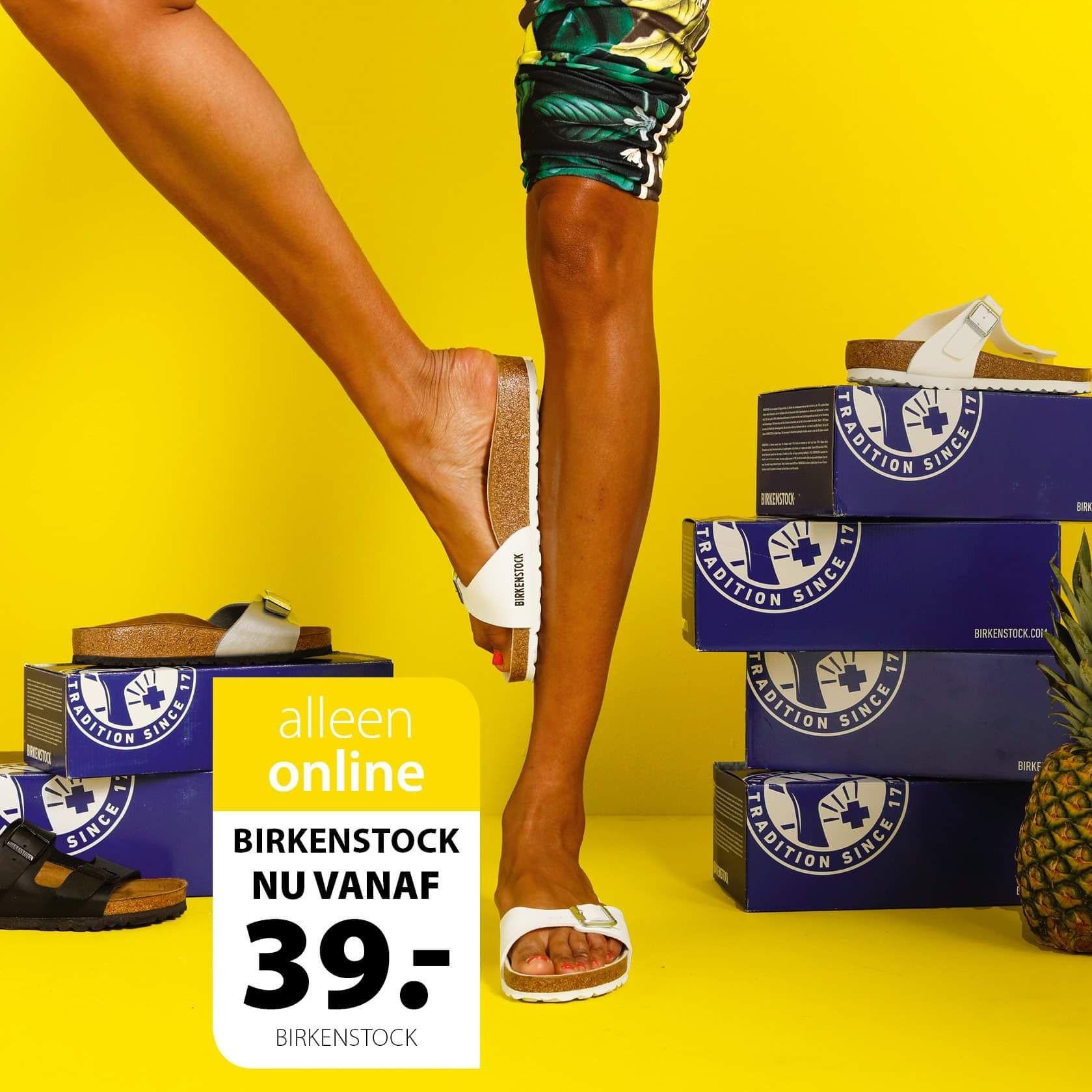 Birkenstocks voor maar €39,00! || TerStal