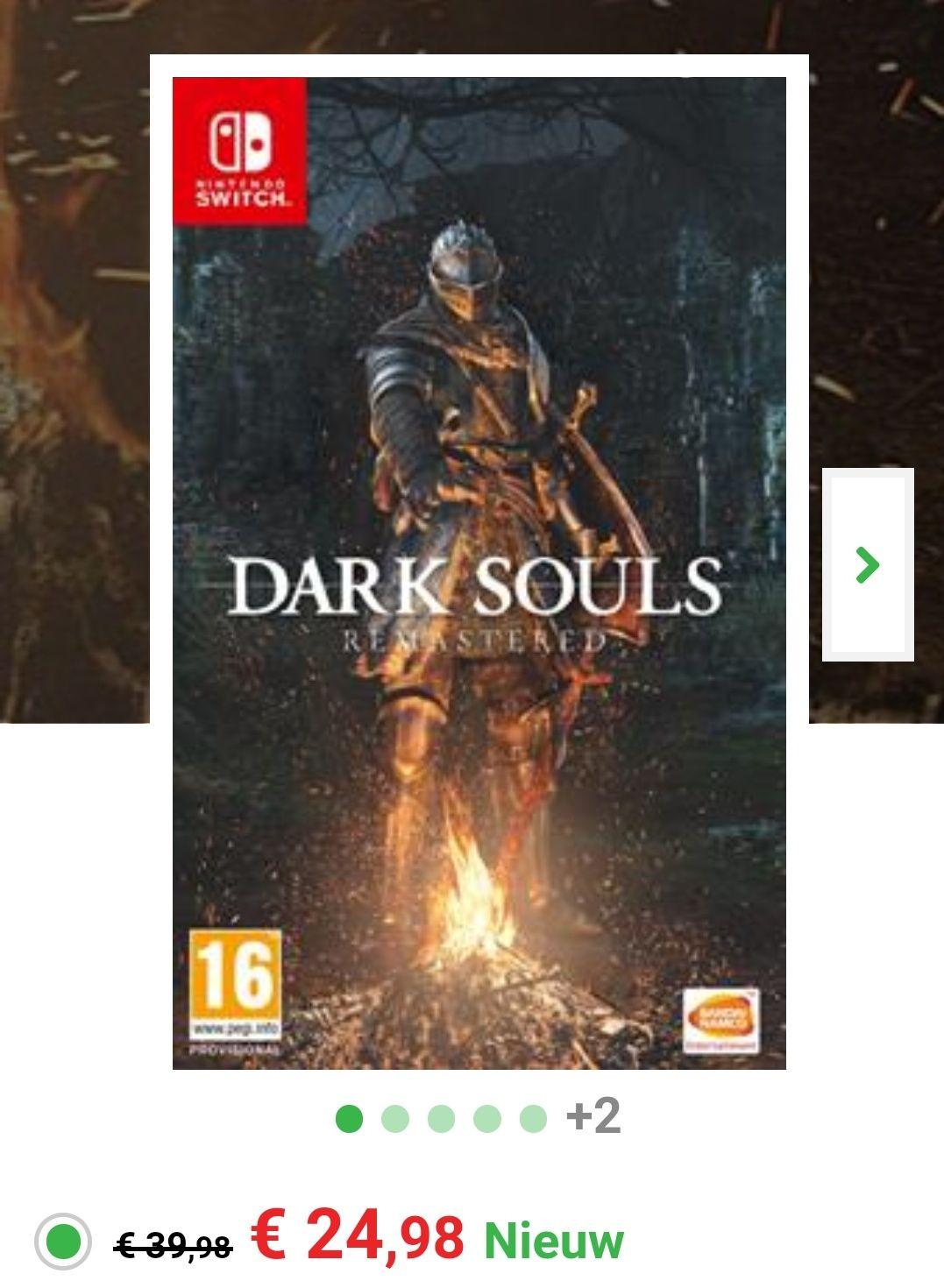 Alleen vandaag Dark Souls Remastered