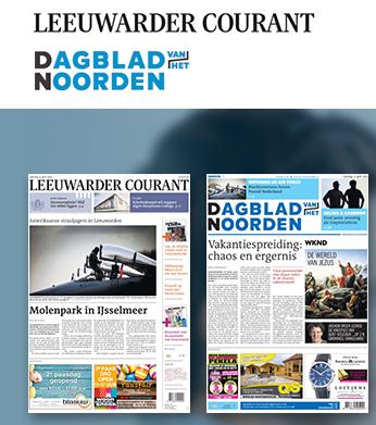 2 weken gratis het Dagblad van het Noorden of Leeuwarder Courant (stopt automatisch)