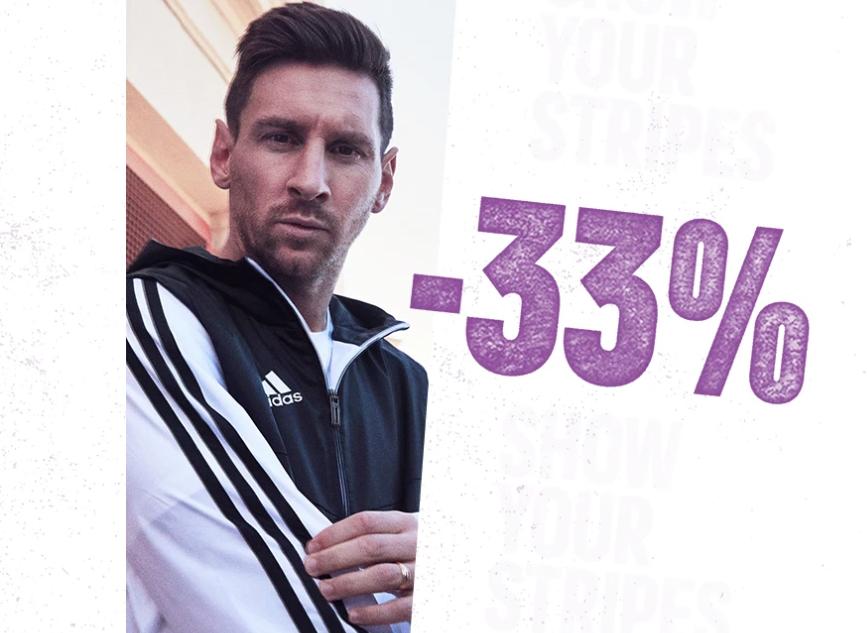 70 Jaar Adidas - 33% korting