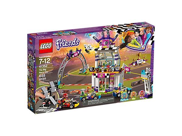 LEGO FRIENDS De grote racedag (41352)