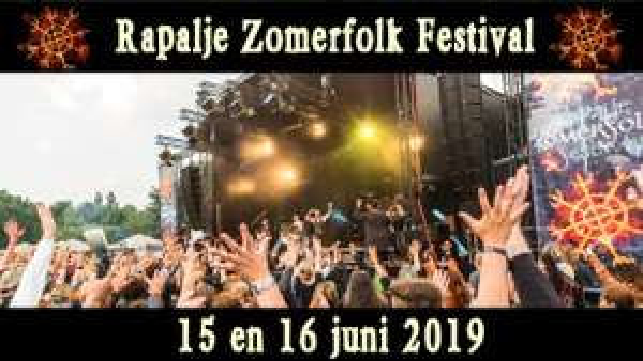 Kinderen (tot 12jr) gratis naar spectaculair Rapalje Zomerfolk Festival [Groningen]