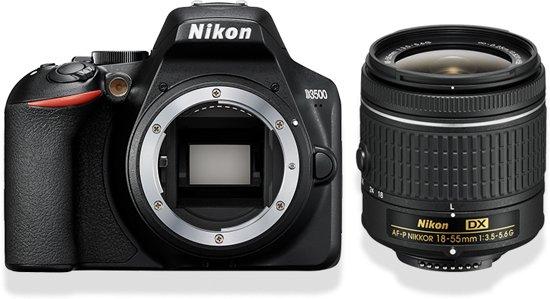 [Dagdeal] Nikon D3500 + AF-P DX 18-55 f/3.5-5.6 - Zwart @ Bol.com