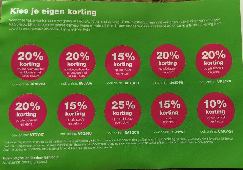 Tot 25% korting bij Houtbrox/Berden