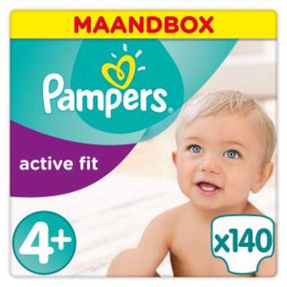 Pampers Active Fit maandboxen met 35% korting @Amazon.de