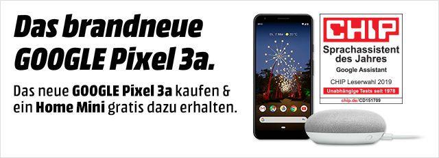 Grensdeal, Pixel 3a inclusief Google home mini