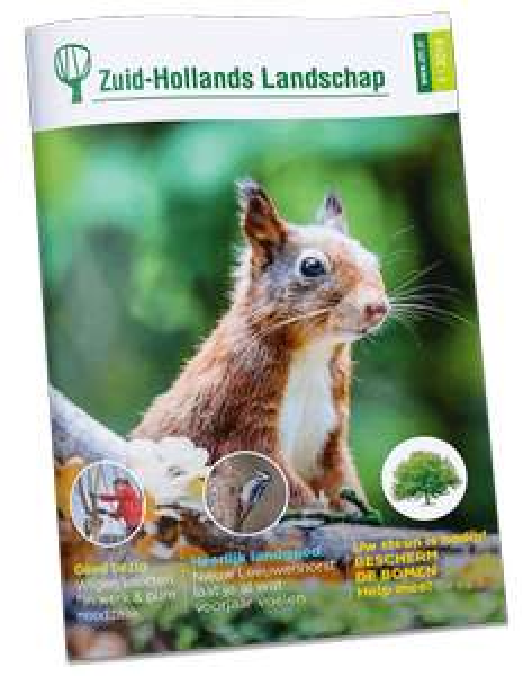 Gratis tijdschrift Zuid-Hollands Landschap (gratis thuisbezorgd)