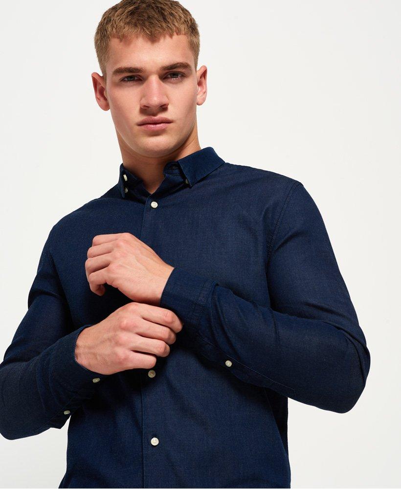 Superdry Indigo Slimfit Overhemd