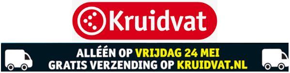 Gratis verzending op Vrijdag 24 mei @ Kruidvat