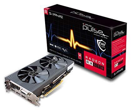 Sapphire Radeon RX 570 PULSE 8GB 8 GB OC