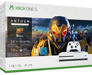 Xbox One S 1TB Anthem @Amazon.fr