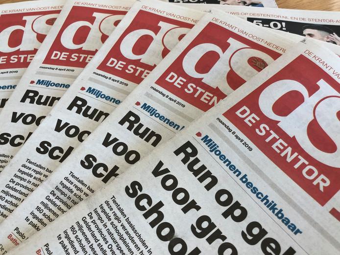 Gratis digitale krant De Stentor vandaag (alle regio's)