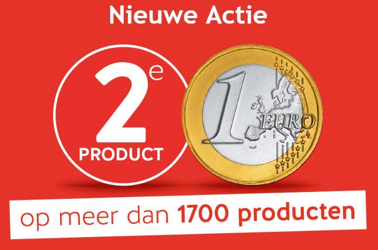 2e Artikel €1 (1.700+ artikelen) + €5 extra (va €50) @ Holland & Barrett