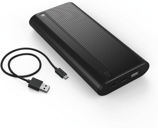 Hama Powerbank X20 20.000 mAh met USB-C aansluiting @ Bol.com