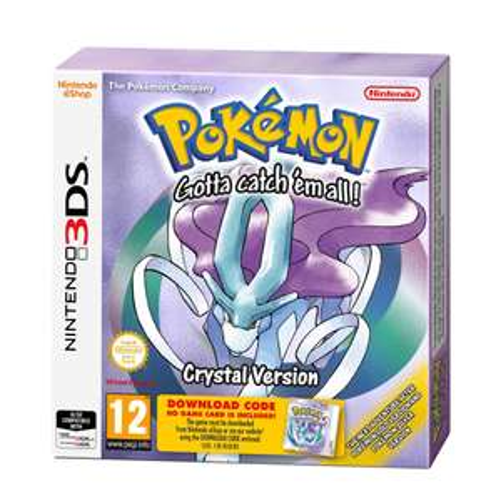 Nintendo Pokémon Crystal download code (Nintendo 3DS) @ Wehkamp