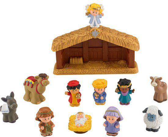 Fisher price kerststal voor €8,99 bij Bol.com