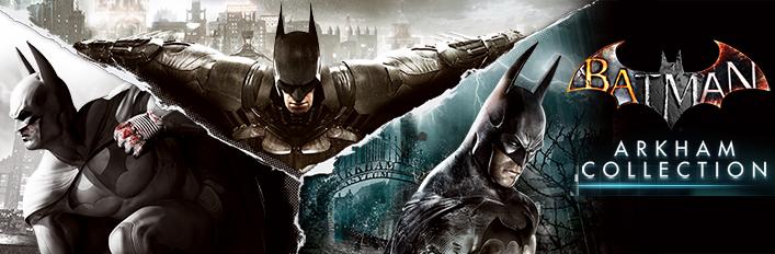 Batman: Arkham Collection voor €15 @ Steam