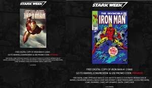 Gratis twee digitale comics van Iron Man @ Marvel