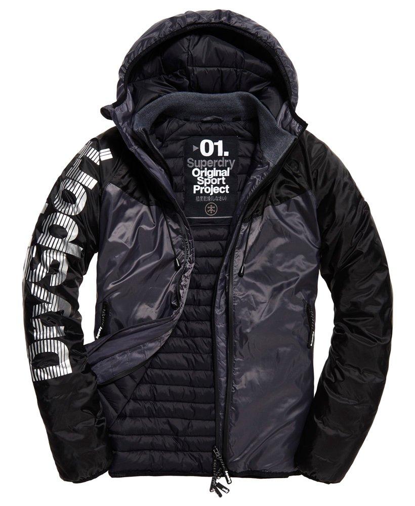 Superdry Chevron Sportshell winterjas LET OP ALLEEN MAAT M.