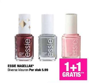 Essie 1+1 gratis = 2 voor €5,99 @ Big Bazar