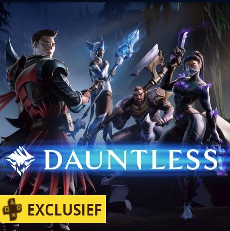 Dauntless + Model P-wapenpakket gratis voor PS+ members @ PSN